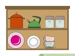 how to decorate the top of kitchen cabinets 15 steps