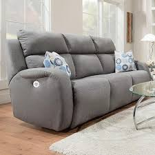 southern motion power reclining sofa southern motion grand slam double reclining sofa with 2 pillows and