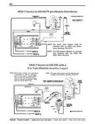 msd hei distributor wiring diagram on mallory unilite wiring