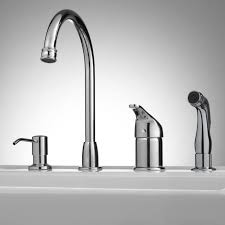 Widespread Kitchen Faucet Widespread Kitchen Faucet With Spray Wow