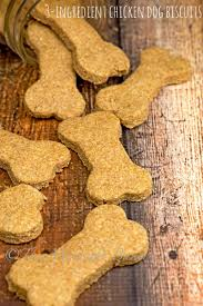 recipes for dog treats 3 ingredient chicken dog biscuits the midnight baker