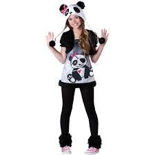 Halloween Costumes Tween Girls Animal Animals Cute Panda Halloween Cosplay Costumes Teen Costume