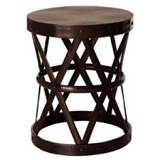 Iron Accent Table Arteriors 6287 Costello Iron Accent Stool Table