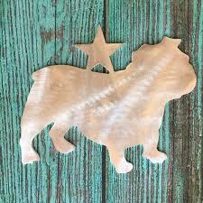 english bulldog adorable dog christmas tree topper holiday