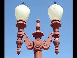 antique lights for sale antique street lights for sale vintage l post double head cast