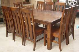 catchy teak wood dining table fancy teak dining table outdoor
