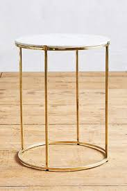 marble and brass coffee table leavenworth marble side table