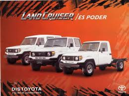 toyota land cruiser brochure toyota colombia land cruiser 70 80 series brochures from 1995