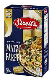 matzah farfel streit s passover matzo farfel 16 oz