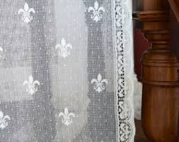 Lace Curtain Lace Curtains Etsy
