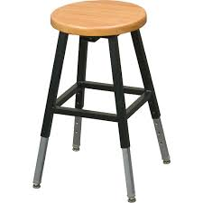 Adjustable Bar Stool With Back Stools Open Back Adjustable Bar Stool Black Gloss Set Of 2