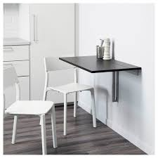 Wall Mounted Drop Leaf Table Black With Inspiration Image 26781