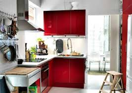 ikea small modern kitchen ideas with full size wall built in
