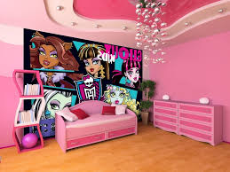 Monster High Bedroom Decorating Ideas by