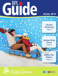 bpl winter guide 2016 by burlington public library issuu