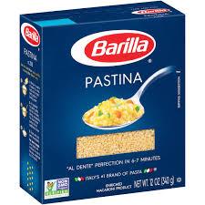 barilla pastina pasta 12 oz box walmart com