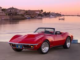 1969 convertible corvette 1969 chevrolet corvette stingray convertible 3 4 front view on
