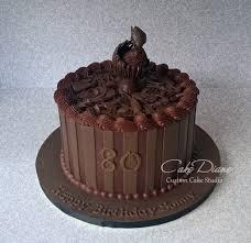 chocolate insanity cake with fishing theme birthday cakes