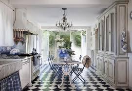 Metal Folding Bistro Chairs Hypnotic Blue White French Country Kitchen Of Metal Folding Bistro