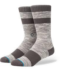 stance mission sand crew socks zumiez