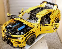 moc lego technic chevrolet camaro 2015 lego pinterest