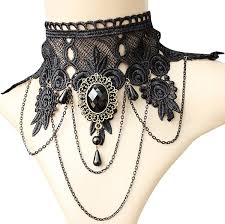 vintage lace collar necklace images Steampunk jewelry necklaces earrings bracelets hair clips jpg