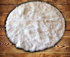 shag flokati round area rugs ebay