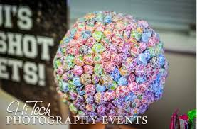 Lollipop Topiary Tree - candy table pictures plus some recipes of interest the cookie