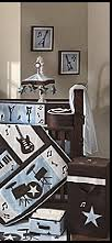 Rock N Roll Crib Bedding Theme Bedrooms Rock Theme Bedroom Bedroom