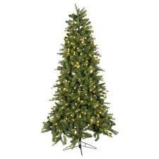 ge 12 ft artificial spruce pre lit led easy light dual color