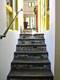 Tiles For Stairs Design Art Deco Home Design Amazing Mediterranean Staircase Floor Tiles