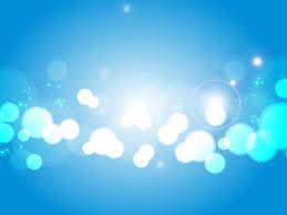 Light Blue Light Blue Bokeh Vector Backgrounds For Presentation Ppt