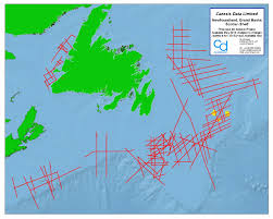 map canada east coast canesis data canada east coast seismic