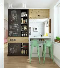 cuisine bois et fer comment adopter le tabouret de bar dans l intérieur moderne