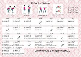 How To Do Challenge Fitness Challenge 30 Arm Challenge Eunicakes