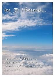 himmel spr che postkarte liebesspüche himmel freundschafts liebespostkarten