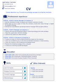 career objective for mba resume resume bloopers resume for your job application download a professional cv template resume template in powerpoint