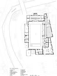 abk updates 1960s leisure centre with new corten steel facade
