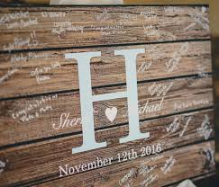 alternatives to wedding guest book rustic wedding guest book alternative guest book wedding
