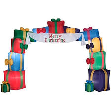 Outdoor Christmas Decorations Lighted Presents by Amazon Com I2ft Inflatable Airblow Holiday Christmas Presents