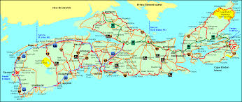 Map Of Nova Scotia Woodland Leisure Developments Location Map