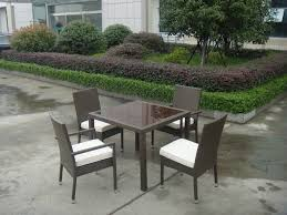 Garden Table Sets Synthetic Rattan Garden Dining Sets Cafe Balcony Chair Set
