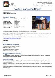 check out report template property inspection manager