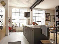 cuisine loft leroy merlin ilots de cuisine parquet carrelage cuisine