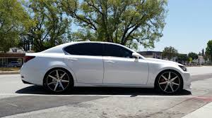 lexus nf x sport do you have a non f sport dropped on aftermarket wheels