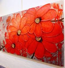 What Is Orange Flower Water - best 25 abstract flower paintings ideas on pinterest abstract