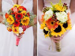 sunflower wedding bouquet bouquet roundup 15 whimsical sunflower wedding bouquets wedding