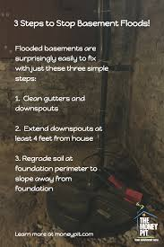 simple how to fix a basement that floods inspirational home