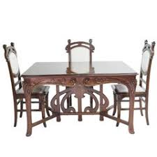 Dining Room Armchairs Art Nouveau Dining Room Chairs 16 For Sale At 1stdibs