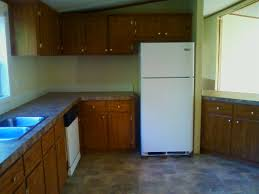 Manufactured Kitchen Cabinets A Spectacular Double Wide Manufactured Home Makeover